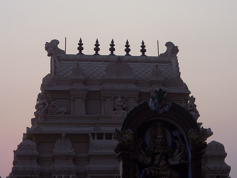 File:Bhadrakali Temple at Warangal 01.JPG