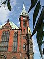 Biblioteka Uniwersytecka (Wrocław)-wieżyczka.jpg