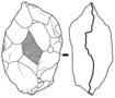 Biface nucleiforme