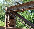 Big Blue bridge (Butler County) upper NE corner.JPG