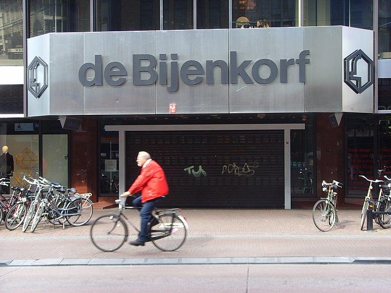 Roupas de frio em Amsterdam