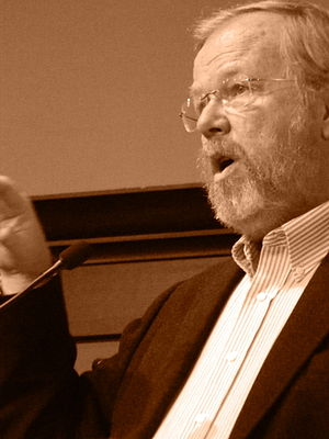 Bill Bryson - Bryson speaking in New York, 2013