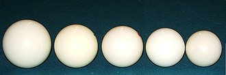 Billiard ball - Image: Billiard ball comparison