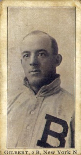 Billy Gilbert (baseball) - Gilbert's 1903 baseball card