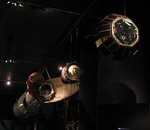 Waxwing (rocket motor) - Black Arrow satellite deployment, with Waxwing upper stage.