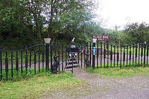 Black Dog Halt railway station - Black Dog Halt in 2004