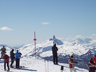 Whistler, British Columbia - Image: Black Tusk March, 2007