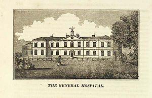 Nottingham General Hospital - Nottingham General Hospital in 1815