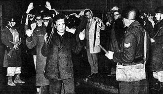 "Anti-intellectualism - In ""The Night of the Long Batons"" (29 July 1966), the federal police physically purged politically-incorrect academics, from five faculties of the University of Buenos Aires, who opposed the right-wing military dictatorship in Argentina of  Juan Carlos Onganía (1966–70)."