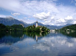 Bled - View over Lake Bled