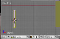 Blender3d House scale the plane to a fence post.jpg