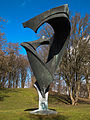 Blossom-Memorial (Schuttblume) in Munich at the olympic mountain 004.jpg