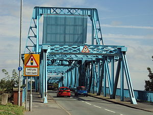 Deeside - The Blue Bridge over the River Dee.