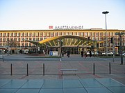 Der denkmalgeschützte Bochumer Hauptbahnhof