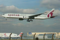 Boeing 777-3DZER A7-BAH Qatar Airways (7091406827).jpg