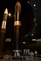 Boeing LGM-118A Peacekeeper tall Missile and Space NMUSAF 26Sep09 (14600239445).jpg
