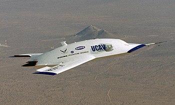 J-UCAS Boeing X-45A UCAV technology demonstrator