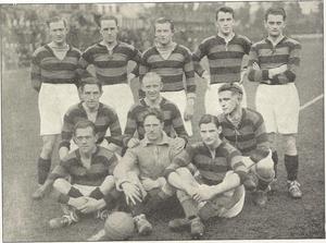 1927 KBUs Pokalturnering - Image: Boldklubben Frem team line up Vinder af KB Us Pokalturnering 1927