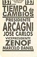 Boleta elecciones argentinas de 2003 - Tiempo de Cambios.jpg