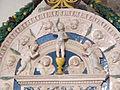 Bolsena, s. cristina, chiesa maggiore, int., ciborio di benedetto buglioni 04.JPG