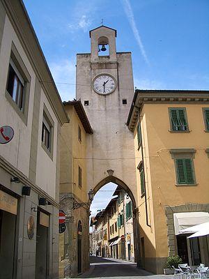 Borgo San Lorenzo - Image: Borgo San Lorenzo torre 1199