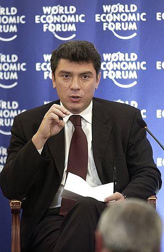 Boris Nemtsov - Boris Nemtsov at the World Economic Forum, 2 October 2003, Moscow