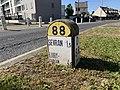 Borne Kilométrique 7 D88 Avenue Paul Vaillant Couturier Villepinte Seine St Denis 3.jpg