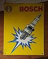 Bosch Werbeschild, Fahrzeugmuseum Marxzell.JPG