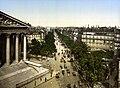 Boulevard de la Madeleine, Paris, 1890-1900.jpg