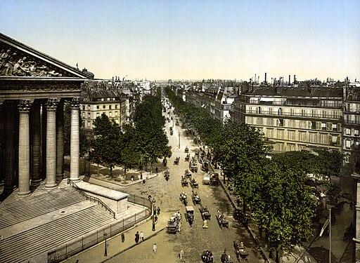 Boulevard de la Madeleine, Paris, 1890-1900