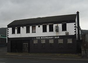 Shore Road, Belfast - Boundary Bar, January 2012