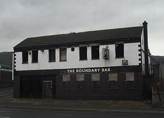 Shore Road, Belfast - Boundary Bar, January 2012