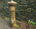 Boundary post, Lisburn - geograph.org.uk - 1137662.jpg