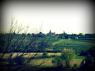Berson, Gironde - Image: Bourg Berson