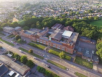 Bournemouth School - General view of Bournemouth School.