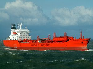 Bow Hunter - IMO 7926318 approaching Port of Rotterdam, Holland 17-Dec-2005.jpg