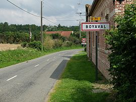 The road into Boyaval