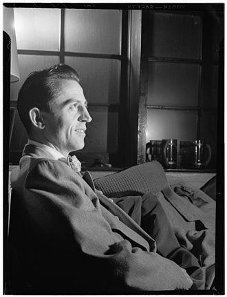 Boyd Raeburn - Boyd Raeburn, c. June 1946 Photograph by William P. Gottlieb
