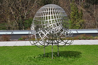 Mathematical Research Institute of Oberwolfach - Model of a Boy's surface at the entrance