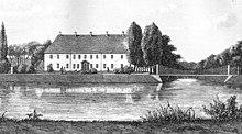 Brahesborg hovedbygningen oppført i årene 1638 56 j p trap