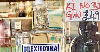 Brexitovka - Image: Brexitovka on a shop shelf
