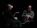 Brian Eno, Danny Hillis by Pete Forsyth 08.jpg