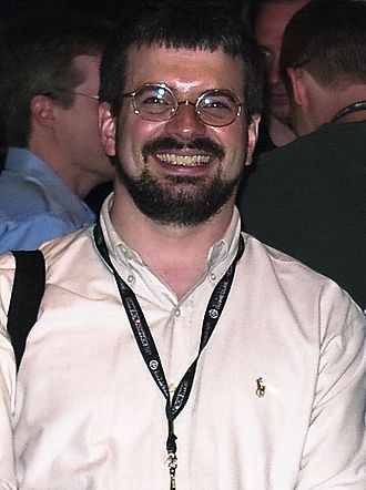 Big Huge Games - Reynolds at E3 in 2003