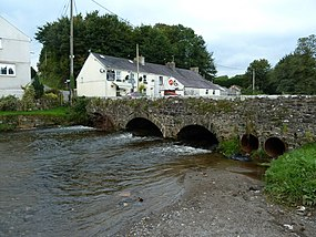 Bridge over Afon Dewi Fawr River in Meidrim.jpg