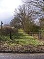 Bridleway near Walpole Bridge - geograph.org.uk - 1701783.jpg