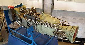 Bristol Siddeley 605 - BS.605 on display at the Royal Air Force Museum Cosford