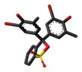 Bromocresol purple cyclic 3D skeletal.png