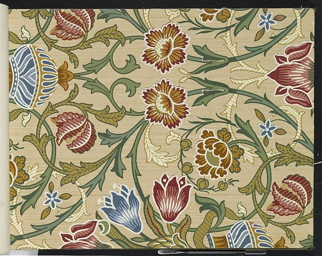 Brooklyn Museum - Wallpaper Sample Book 1 - William Morris and Company - page031