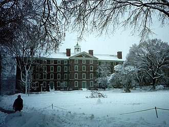 University Hall (Brown University) - Image: Brown University University Hall