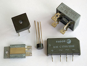 Diode bridge - Diode bridge in various packages